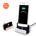 1m Magnetic Adsorption Reversible Removable 8 Pin 2.1A Connector Seat Charger Cable for iPhone