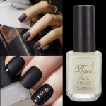 15ml Super Matte Nail Gel Polish Transparent Frosted Surface Oil Top Coat
