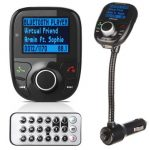 LCD Car Wireless Handsfree Kit MP3 Bluetooth Player Audio FM Transmitter USB Charger