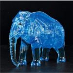 3D 41PCS Elephant Crystal Blocks Puzzle to Hold Blocks