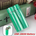 Fast USB Rechargeable 3800mAh/4200mAh 18650 Li-ion Battery For Flashlight
