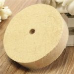 4 Inch 100mm Polishing Buffing Wheel Wool Felt Polisher Disc Pad