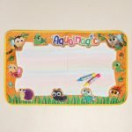 Magic Doodle Mat Colorful Water Painting Cloth Reusable Portable Developmental Toy Kids Gift