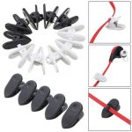 10 x Headphone Cable Wire Cord Collar Clip Nip Clamp Holder Mount