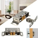Stainless Steel Catch Stopper For Cupboard Cabinet Kitchen Door Latch Hardware