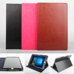 Folding Stand PU Leather Case Cover for Chuwi HiBook
