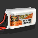 ZOP Power 3S 11.1V 1000MAH 20C Lipo Battery JST Plug