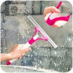 Sprinkling Glass Window Wiper Soap Cleaner Housekeeping Cleaning Brush