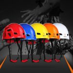 Outdoor Rock Climbing Helmet Mountaineering Safety Head Protector For Caving Rescue Expansion