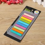 Colorful Notebook Note Index Paper Card Sticker Note Memo for School Office Supplies