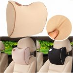 Neck Support Car Seat Headrest Memory Foam Pillow Cushion Neck Rest Relaxation