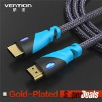 VENTION VAA-C01 HDMI Cable Male to Male Gold Plated HDMI 1.4V 1080P 3D HD 1M/2M/5M