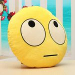 Rolling Eyes Emoji Emoticon Pillow Plush Toy Doll Gift