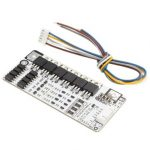 4 Series 12V 60A Lithium LiFePo4 Cell Battery Protection BMS PCB Board W/ Balance