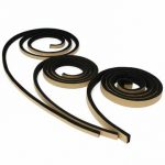 2M Self Adhesive Foam Sealing Tape Strip Draught Excluder EPDM Rubber