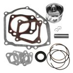 Piston Ring Gasket Crankcase Oil Seal Rebuild Kit For Honda GX160 GX200 5.5 6.5HP Engine