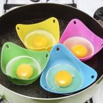 Silicone Egg Poacher Cooking Poaching Chooks Pods Kitchen Baking Cup Cooking Tool