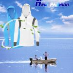 Men's Quick Dry Bamboo Fiber Long Sleeve Breathable Fishing Shirts UV Sunscreen Cloth With Hood