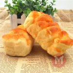 Squishy Toys 10 5cm Simulate Toast Super Soft Reality Touch Hand Pillow Office Decor