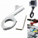 Motorcycle Bike Aluminum Handlebar Adapter Mount For GoPro Hero 1 2 3 3 Plus 4 Xiaomi Yi SJ4000 SJ5000 SJcam