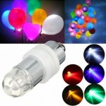 Mini Waterproof Flashing LED Balloon Light Bulb Wedding Birthday Party Decor