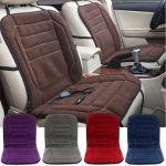 12V Winter Car Seat Heated Cushion Heating Warmer Pad With Hi/Lo Adjustable Switch
