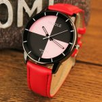 YAZOLE 345 Casual Ladies Leather Wrist Watch Fashion Quartz Watch