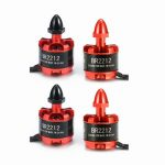 4X Racerstar Racing Edition 2212 BR2212 920KV 2-4S Brushless Motor For 350 380 400 Frame Kit