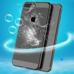 Dissipating Heat Fingerprint Resistant PC Shockproof Back Case For iPhone 7 Plus 5.5 Inch