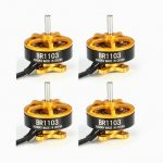 4X Racerstar Racing Edition 1103 BR1103 8000KV 1-2S Brushless Motor Gold For 50 80 100 RC Multirotor