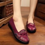 Women Casual Shoes Outdoor Soft Comfortable Slip On Flat Loafer