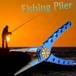 Aluminum Alloy Fishing Plier Cutter Fish Grip Fishing Line Scissors Fishing Tackle