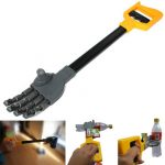 Plastic Robot Claw Hand Grabber Grabbing Stick Kid Boy Toy Move and Grab Things