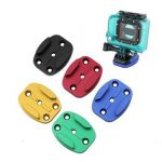 CNC Aluminum Flat Quick Release Buckle Mount Base For GoPro 1 2 3 3 Plus Xiaomi Yi SJ4000