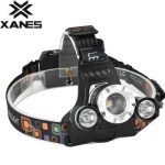 XANES 749 800 Lumens T6 2 XPE Led Bicycle Headlight Infinite Zoom Outdoor Sports HeadLamp 4 Modes Adjustable Head Light