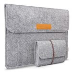 Gray 15.6inch MacBook Surface iPad IPhone Ultrabook Netbook Protector Sleeve Carrying Case Cover Bag