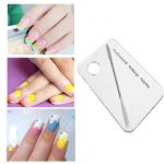 Professional Acrylic Nail Makeup Mixing Palette Stainless Steel Rod Manicure Set Tool