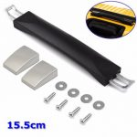15.5cm Black Spare Strap Handle Replacement for Suitcase Luggage