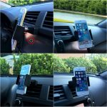 Universal Phone Stand Car Air Vent Holder CD Slot Mount Holder for under 7 inches Smartphone GPS