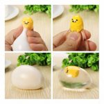 Squishy Lazy Egg Yolk Stress Reliever Toys Fun Gift