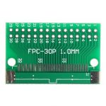 FFC/FPC 30 Pin to 2.54mm DIP Double Side 0.5mm 1mm Pitch PCB Board Converter