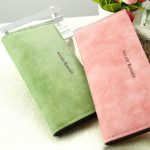Large Capacity Women Pu Leather Long Wallet Credit Card Holder