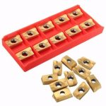10pcs APKT1604PDER-DP BP010 Carbide Inserts for 400R Turning Tool Holder
