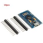 10pcs Pro Micro 5V 16M Mini Leonardo Microcontroller Development Board For Arduino