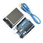Geekcreit UNO R3 USB Development Board With 2.8 Inch TFT Touch Display Module For Arduino