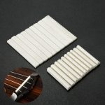 10 Pairs 4 String Bone Nut and Bridge Saddle Ukulele Guitar Replacement