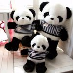 "80cm 32"" Large Cute Plush Panda Doll Stuffed Animal Kids Soft Toy"
