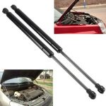 Car Front Hood Gas Lift Support Shock Strut Black 2Pcs for BMW E90 E91