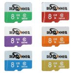 Bestrunner 8GB Class 10 Colorful Digital Flash Memory Card TF Card