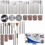 58pcs Assorted Sanding Grinding Polishing Rotary Tool Accessory Set Electric Grinding Mill Accessori